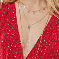 Avi Charm Layering Necklace Set | Urban Outfitters