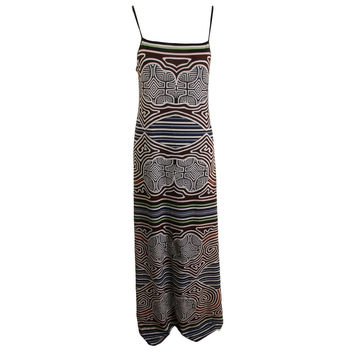 Clover Canyon Womens Printed Adjustable Straps Casual Dress
