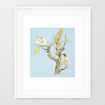 Trees are poems... Framed Art Print by Anipani
