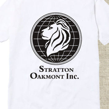 stratton oakmont wolf wall tshirt for mens and womens
