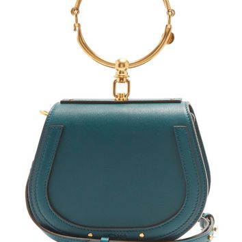 Nile small leather and suede cross-body bag | Chloé | MATCHESFASHION.COM US