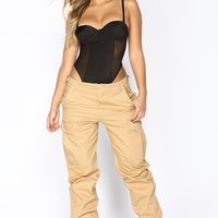Ruff It Up Pants - Khaki