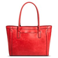 Women's Solid Tote Handbag