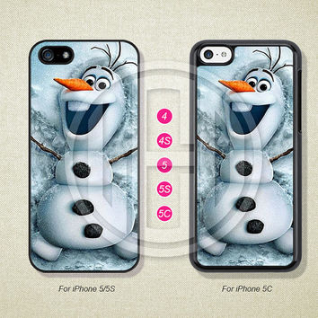 Disney Frozen Phone Cases, iPhone 5S Case, iPhone 5 Case, iPhone 5C Case, iPhone 4 case, iPhone 4S case, Case For iPhone --L51045