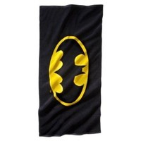 "Batman Logo Beach Towel - 28"" x 58"""