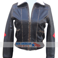 Bombshell Harley Quinn Leather Jacket - New American jackets