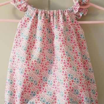 Newborn Girls Sized Seaside Romper Flutter Sleeves Playsuit Bubble Easter Baby Shower Gift Home Summer Ready to Ship