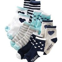 Patterned Sock 6-Pack for Baby