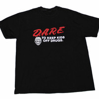 Vintage 90s DARE To Keep Kids Off Drugs Shirt Mens Size Large