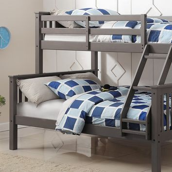 Anthony Gray Twin over Full Bunk Bed