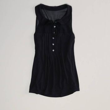 AE Pleated Sleeveless Top | American Eagle Outfitters