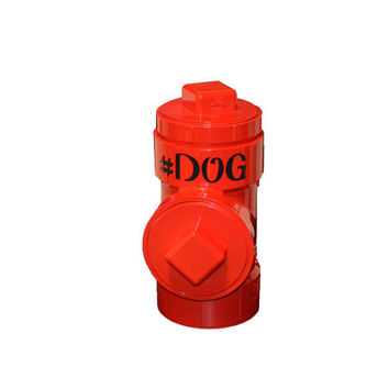 Custom #DOG canine gift hydrant treat jar - for any #dogoftwitter perfect for your dog or favorite #doglover