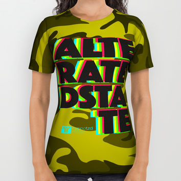 Alterated State All Over Print Shirt by HYPNOTZD MUSIC