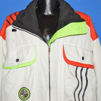 90s Neon Crazy Color Ski Jacket Large