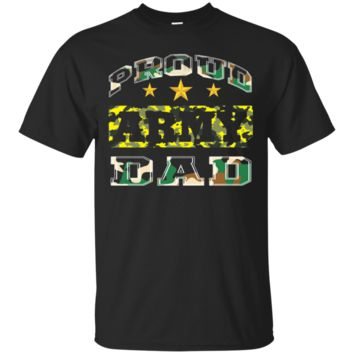 Proud army dad Cute T shirt for army lovers shirt