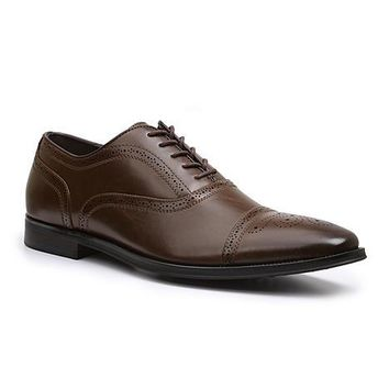 Giorgio Brutini Men's Brown Cap Toe Oxford