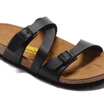 Men's and Women's BIRKENSTOCK sandals Salina Birko-Flor 632632288-097