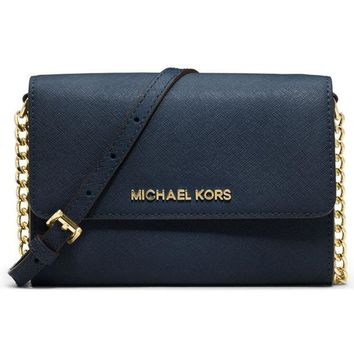 MICHAEL KORS Women Fashion Shopping Leather Shoulder Bag Satchel Crossbody G