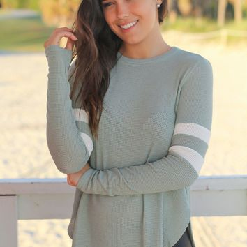 Sage Long Sleeve Knit Top