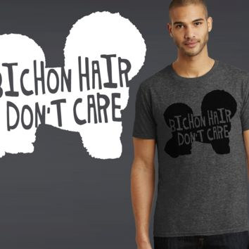 Bichon Frise Dog Hair T-shirt