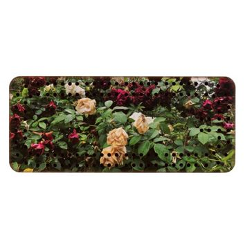Rose Bush Wood Cribbage Board