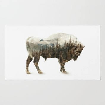 Bison Rug by RIZA PEKER