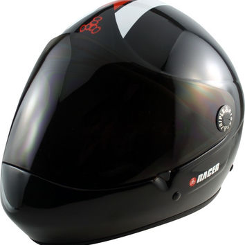 Triple 8 Racer Downhill Helmet Large/XL Black Cpsc/Atsm