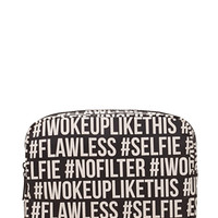 Hashtag Makeup Bag