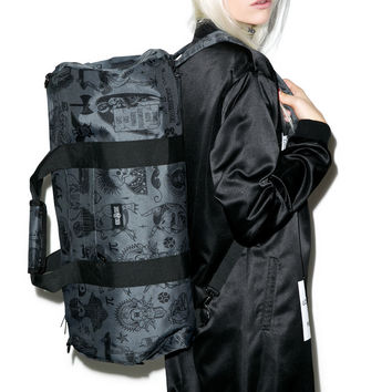 Rebel8 Giant Flash Duffle Bag Black One
