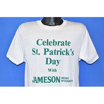 80s Jameson Irish Whiskey Celebrate St. Patrick's t-shirt Medium