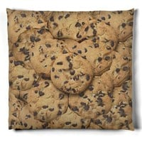Chocolate Chip Cookie Pillow