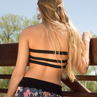 NEW! 3 Strap Organic Bandeau: Soul-Flower Online Store