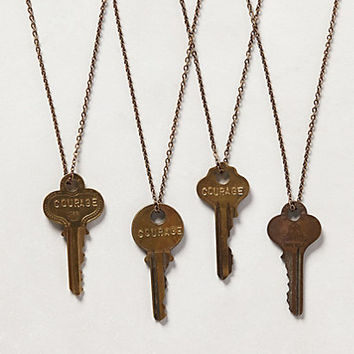 Giving Key Necklace