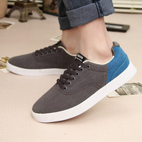 Stylish Casual Korean Summer Mosaic Fashion Permeable Men's Shoes = 6450156419