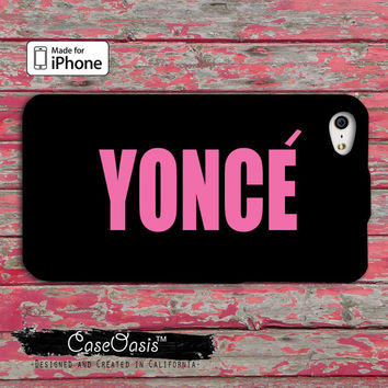 Yonce Beyonce Inspired Pink Cute Drunk in Love Bey Queen Music iPhone 4 and 4s Case and Custom iPhone 5 and 5s and 5c Case