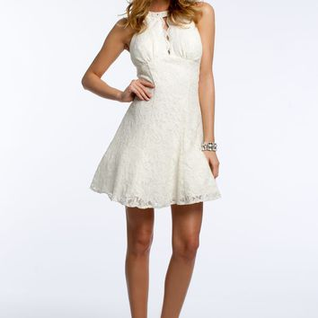 Glitter Party Lace Dress
