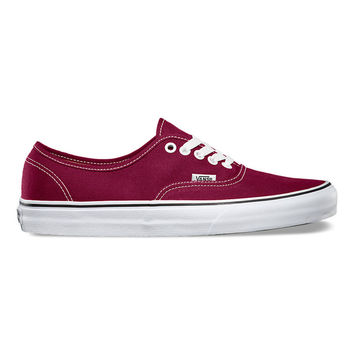 Vans Authentic - Cordovan / True White