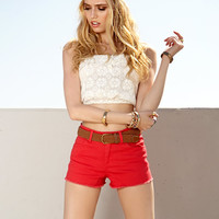 Womens shorts, high waist shorts, short shorts and jeans shorts | shop online | Forever 21 -  2035274166
