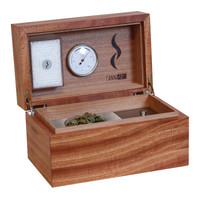 Cannabis humidor - Mahogany & equipment box – Cannaseur®