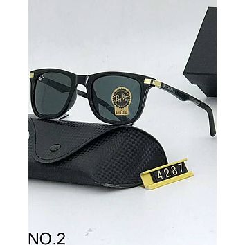 Ray-Ban 2018 new men and women with the same paragraph leisure sunglasses F-A-SDYJ NO.2
