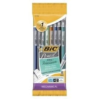 BIC Shimmery 8ct Mechanical Pencils - 0.5mm