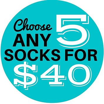 5 Sock Bundle - Women's