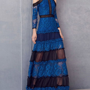 Alexis Bliss Gown in Royal Blue Lily