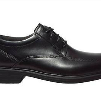 Bostonian Mens Oxford Shoes flextile Ipswich 25885 Black Leather