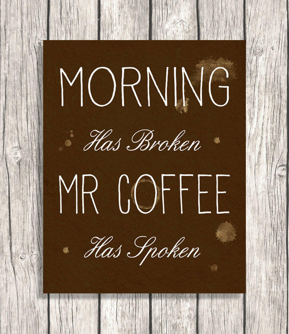 Free Printable Coffee Quotes: From PatiHomeDecor On