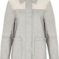 See by Chloé - Cady-paneled woven coat