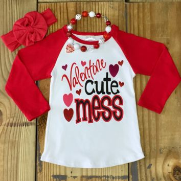 """Valentine Cute Mess"" T-Shirt"