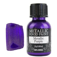 Purple Metallic Edible Paint RD