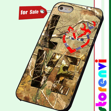 Browning Deer Love Camo custom case for smartphone case