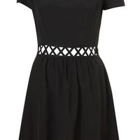 Lattice Waist Flippy Dress - Dresses & Rompers - New In This Week  - New In